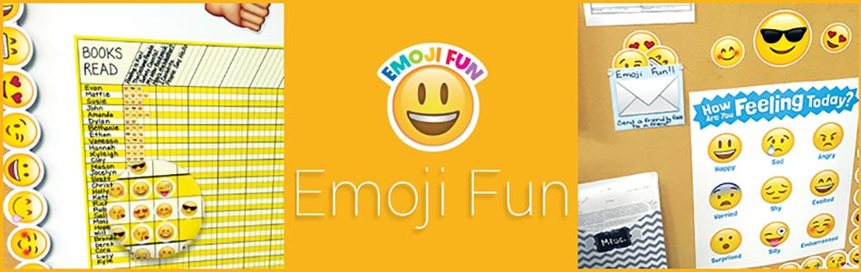 Emoji Fun Designer Decor