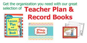 Teacher Plan & Record Books